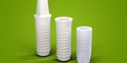 Модели керамических имплантатов Straumann PURE
