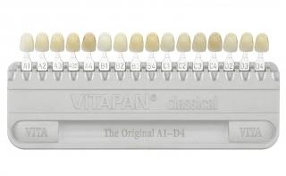Шкала VITA для определения цвета зубов